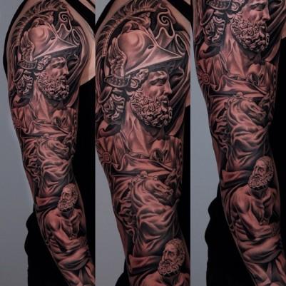 explorer-sleeve-tattoo-for-guys