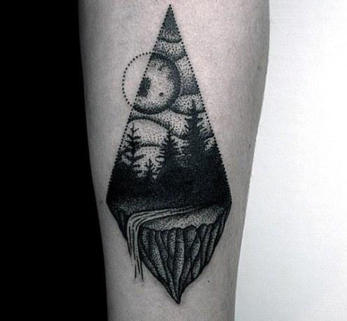 waterfall-tattoo-for-guys